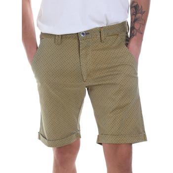 Textil Muži Kraťasy / Bermudy Gaudi 811FU25018 Zelený
