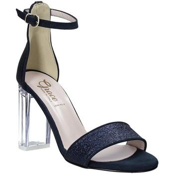 Boty Ženy Sandály Grace Shoes 018TR003 Modrý