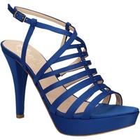 Boty Ženy Sandály Grace Shoes 2078 Modrý