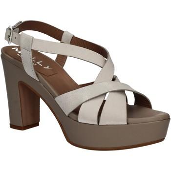 Boty Ženy Sandály Mally 5744 Stříbrný
