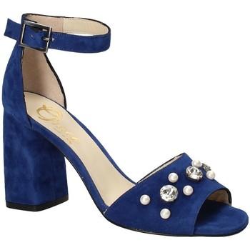 Boty Ženy Sandály Grace Shoes 536 Modrý