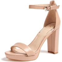 Boty Ženy Sandály Guess FL5ORE LEA03 Béžový