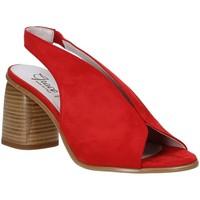 Boty Ženy Sandály Grace Shoes 492S001 Červené