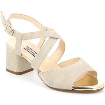 Boty Ženy Sandály Grunland SA1426 Béžový