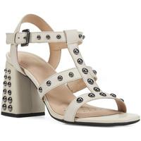 Boty Ženy Sandály Geox D92DTB 00043 Růžový