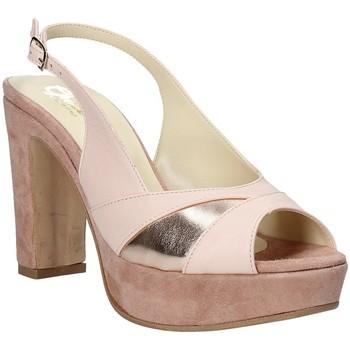 Boty Ženy Sandály Grace Shoes JN 093 Růžový
