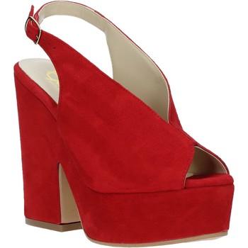 Boty Ženy Sandály Grace Shoes ALBA 107 Červené