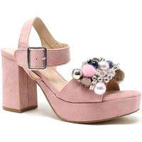 Boty Ženy Sandály Onyx S19-SOX467 Růžový