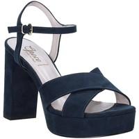 Boty Ženy Sandály Grace Shoes 492PL003 Modrý