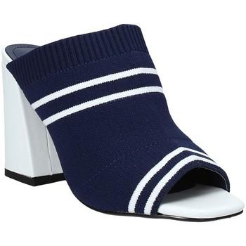 Boty Ženy Dřeváky Exé Shoes I487F0836H22 Modrý