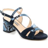 Boty Ženy Sandály Grunland SA2515 Modrý