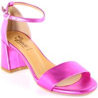Boty Ženy Sandály Grace Shoes 380008 Růžový