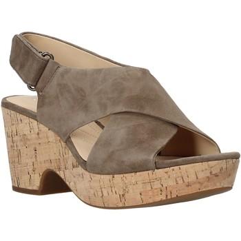 Boty Ženy Sandály Clarks 26133817 Zelený