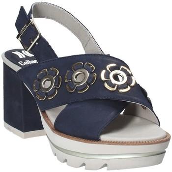 Boty Ženy Sandály CallagHan 22600 Modrý
