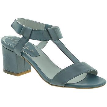 Boty Ženy Sandály Mally 3895 Modrý