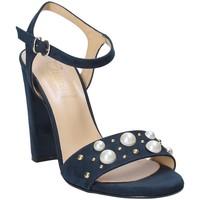 Boty Ženy Sandály Grace Shoes 1396 Modrý