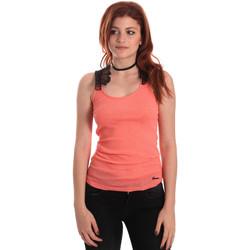 Textil Ženy Tílka / Trička bez rukávů  Fornarina BE175J75H26368 Oranžový