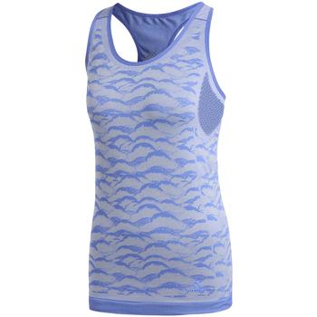 Textil Ženy Tílka / Trička bez rukávů  adidas Originals CF5138 Modrý