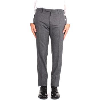 Textil Muži Oblekové kalhoty Incotex 1T0030 1721T Šedá