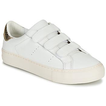 Boty Ženy Nízké tenisky No Name ARCADE STRAPS Bílá / Béžová