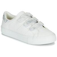 Boty Ženy Nízké tenisky No Name ARCADE STRAPS Bílá / Stříbřitá