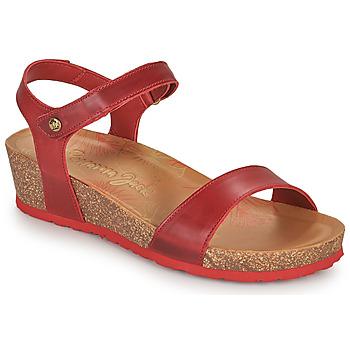 Boty Ženy Sandály Panama Jack CAPRI Červená