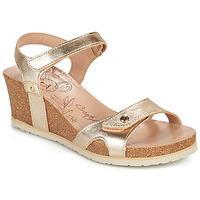 Boty Ženy Sandály Panama Jack JULIA SHINE Zlatá