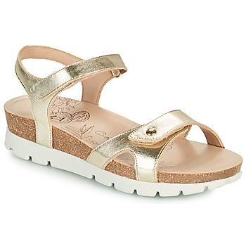 Boty Ženy Sandály Panama Jack SULIA SHINE Zlatá