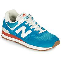 Boty Muži Nízké tenisky New Balance 574 Modrá / Bílá