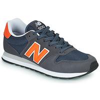 Boty Muži Nízké tenisky New Balance 500 Modrá / Oranžová