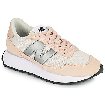 Boty Ženy Nízké tenisky New Balance 237 Růžová / Stříbrná