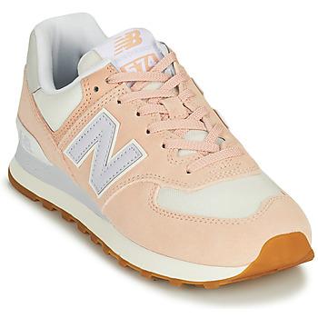 Boty Ženy Nízké tenisky New Balance 574 Růžová / Modrá