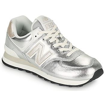 Boty Ženy Nízké tenisky New Balance 574 Stříbrná