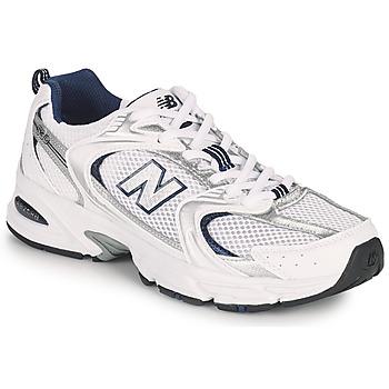 Boty Nízké tenisky New Balance 530 Bílá / Stříbrná