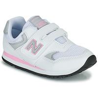 Boty Dívčí Nízké tenisky New Balance 393 Bílá / Růžová