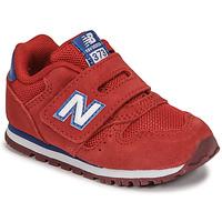 Boty Chlapecké Nízké tenisky New Balance 373 Červená