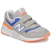 Boty Chlapecké Nízké tenisky New Balance 997 Šedá / Modrá