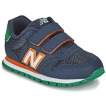 Boty Chlapecké Nízké tenisky New Balance 500 Modrá / Oranžová