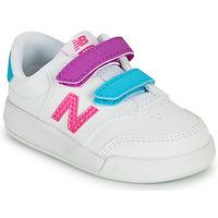 Boty Dívčí Nízké tenisky New Balance COURT Bílá / Růžová