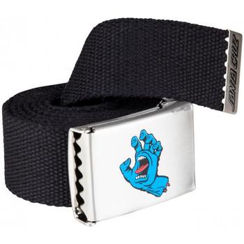 Textilní doplňky Muži Pásky Santa Cruz Screaming mini hand belt Černá