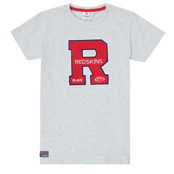 Textil Chlapecké Trička s krátkým rukávem Redskins TSMC180161-BLENDED-GREY Šedá