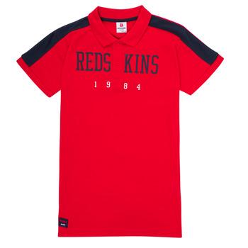 Textil Chlapecké Polo s krátkými rukávy Redskins PO180117-RED Červená