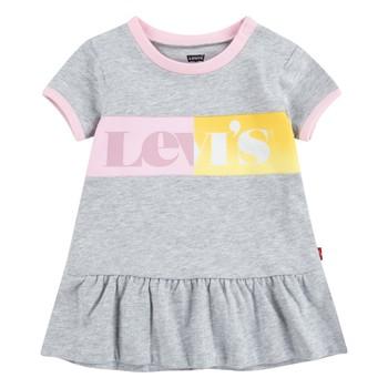 Textil Dívčí Krátké šaty Levi's 1EC694-G2H Šedá