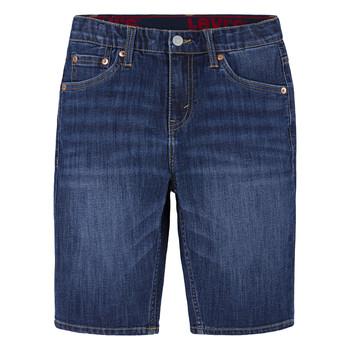 Textil Chlapecké Kraťasy / Bermudy Levi's PERFORMANCE SHORT Modrá