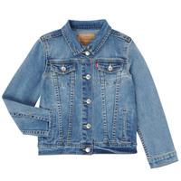 Textil Dívčí Riflové bundy Levi's 3E4388-M0K Modrá
