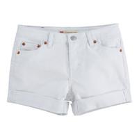 Textil Dívčí Kraťasy / Bermudy Levi's 4E4536-001 Bílá