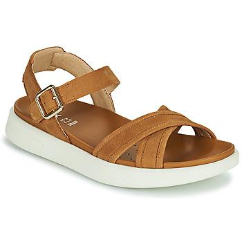 Boty Ženy Sandály Geox D XAND 2S B Zlatohnědá