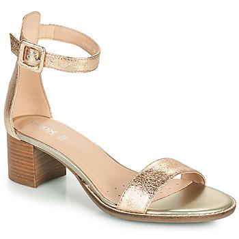 Boty Ženy Sandály Geox D SOZY MID E Zlatá
