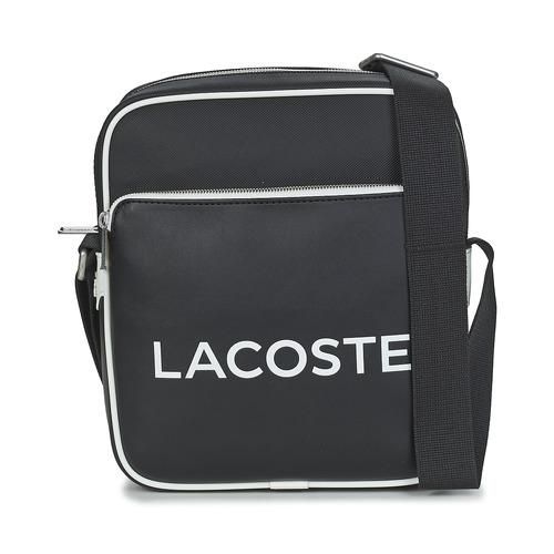 Taška Muži Malé kabelky Lacoste ULTIMUM Černá