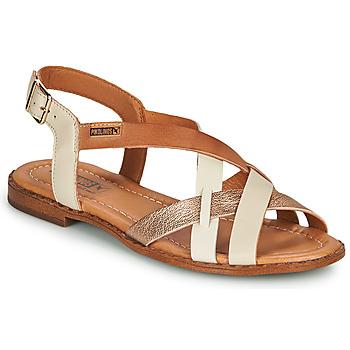Boty Ženy Sandály Pikolinos ALGAR W0X Bílá / Růžová / Zlatá
